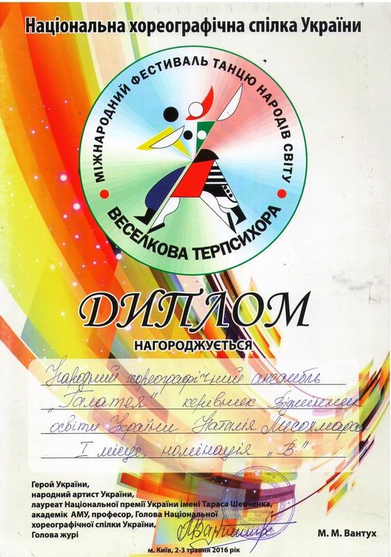 Ансамбль «Галатея» – кращий танцювальний дитячий колектив України ... b3492f8af70cb