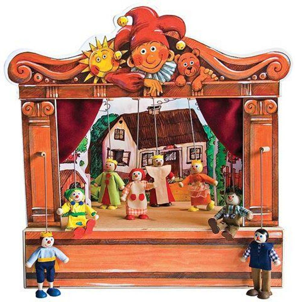 этом домашний кукольный театр в картинках замёрзнуть, когда
