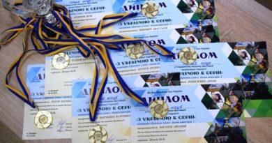Вітаємо переможців міського фестивалю «З Україною в серці»!