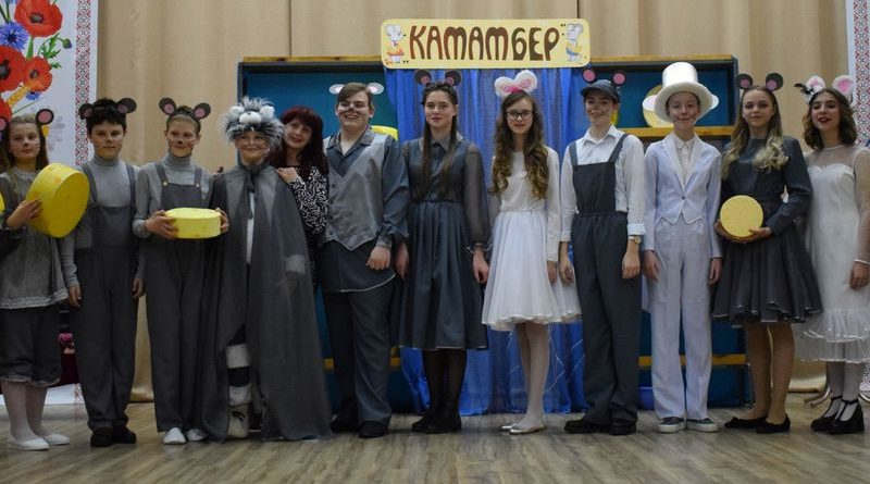 Гурток «Театр казок» дарує глядачам тепло своїх сердець