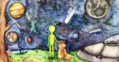 Вітаємо переможців обласного етапу Art Space дитячої творчості в рамках Всеукраїнського гуманітарного конкурсу «Космічні фантазії»